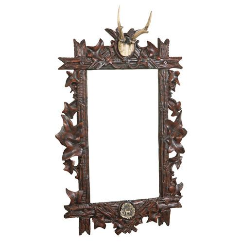 Antler Bevel Mirror