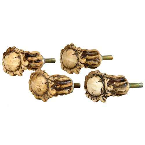 Antler Crown Cabinet Knobs (Set of 4)