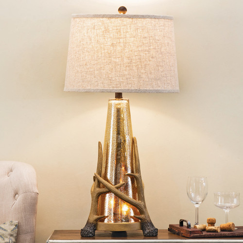 Antler Embrace Table Lamp