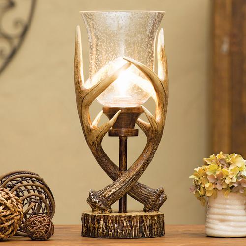 Antler Lodge Uplight Lamp