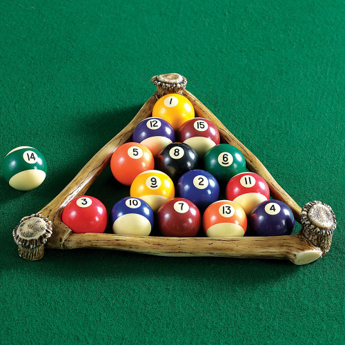 Antler Pool Ball Rack