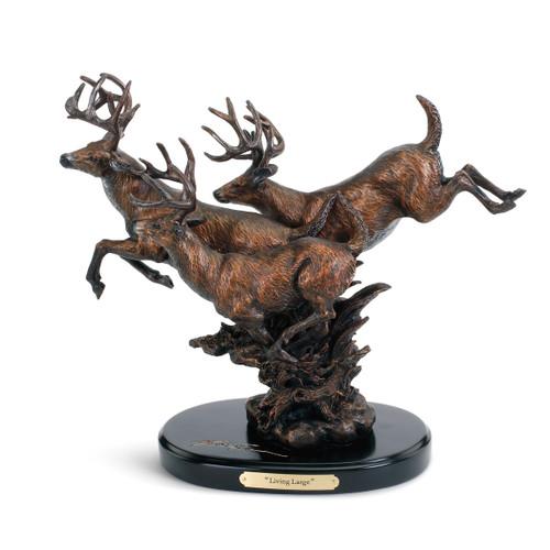 Antler Sprint Statue