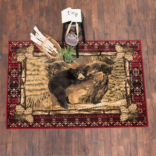 Cozy Bear Cub Rug Collection
