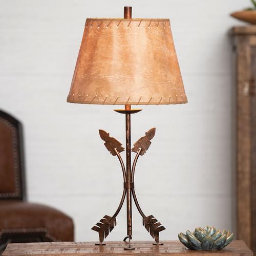 Arrowhead Point Table Lamp