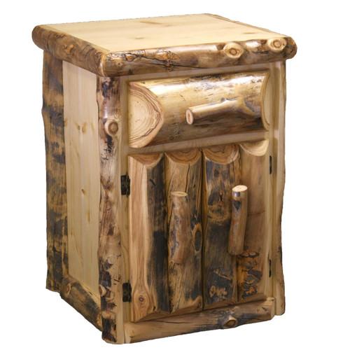 Aspen 1 Drawer Nightstand with Doors