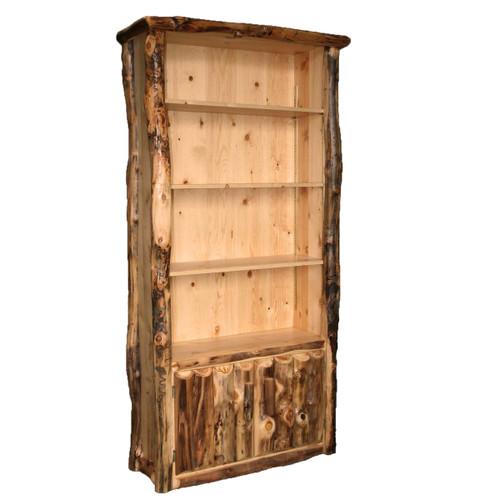 Aspen 4 Shelf Bookcase with Doors