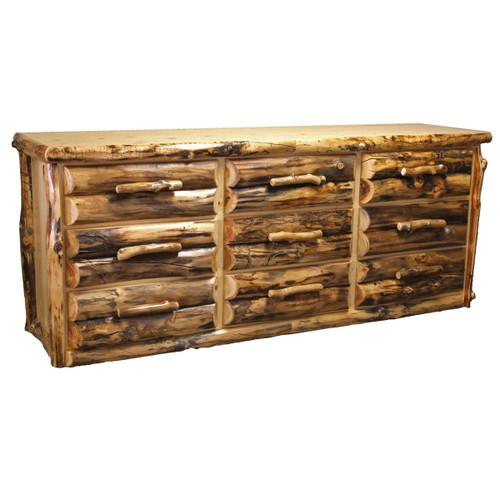 Aspen 9 Drawer Dresser - Large