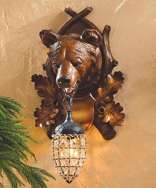 Aspen Bear Wall Sconce