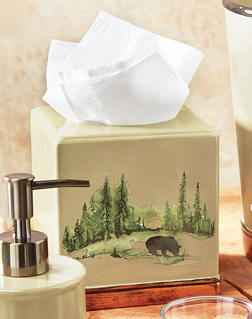 Aspen Heights Tissue Holder