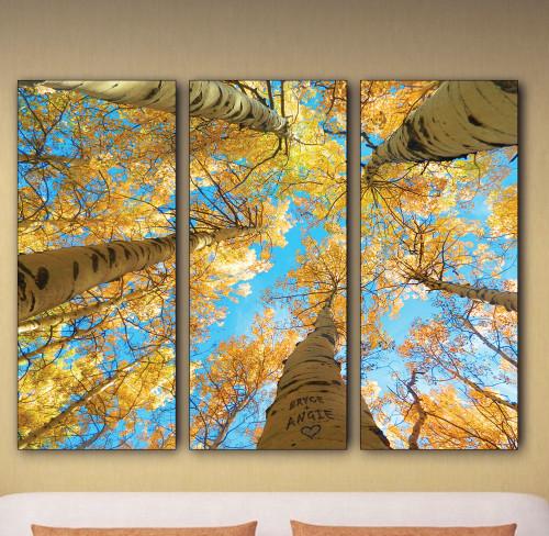 Aspen Sky Personalized Wall Art (Set of 3)