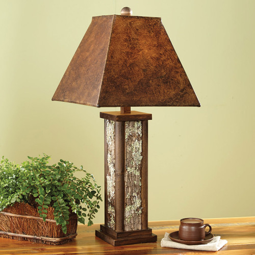 Authentic Bark Table Lamp