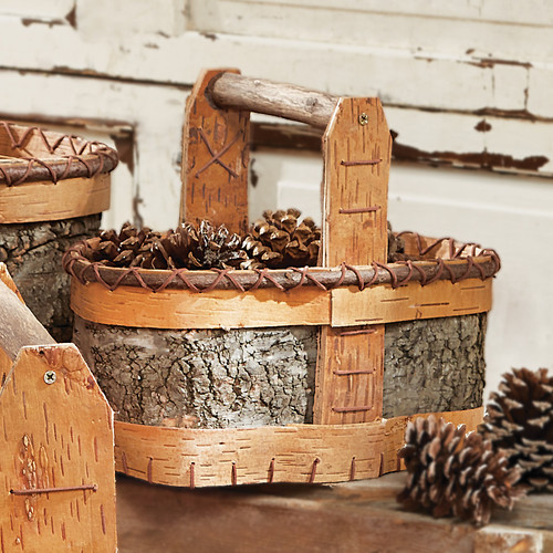 Authentic Birch Basket - Small