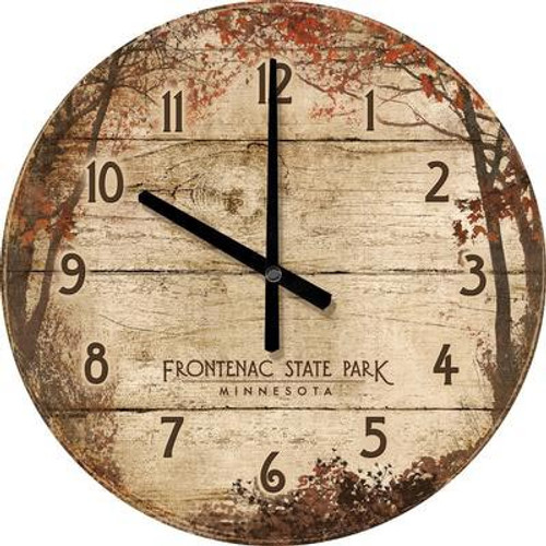 Autumn Forest Wall Clock - Personalized