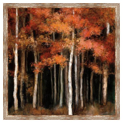 Autumn Woods Framed Canvas