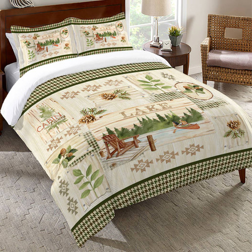 Backwoods Living Comforter - Queen