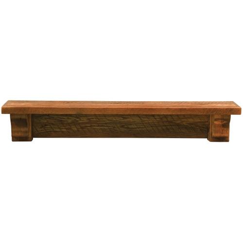 Barnwood 48 Inch Shelf