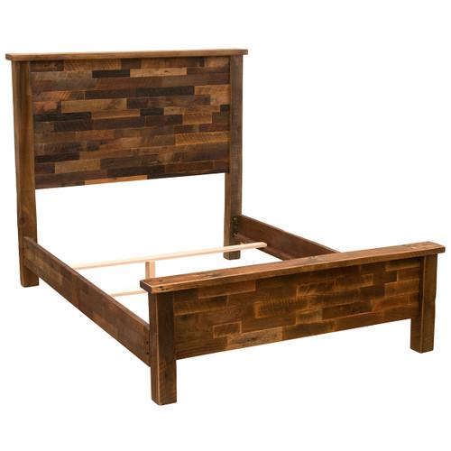 Barnwood Americana Bed - Twin
