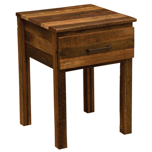 Barnwood Uptown One Drawer Nightstand