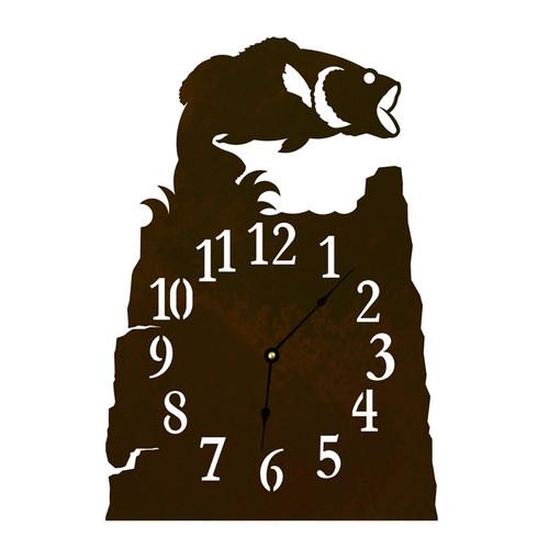Bass Table Clock