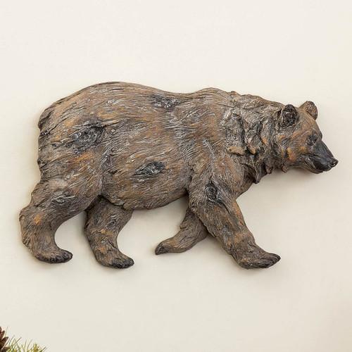 Bear 3-D Wall Sculpture