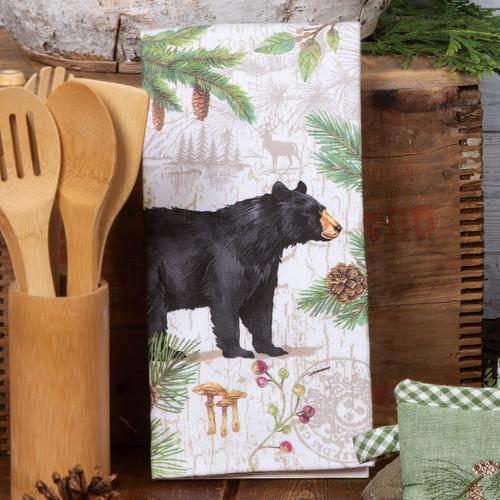 Bear Adventure Terry Towel