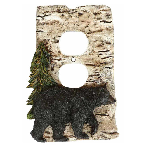 Bear and Birch Outlet Cover