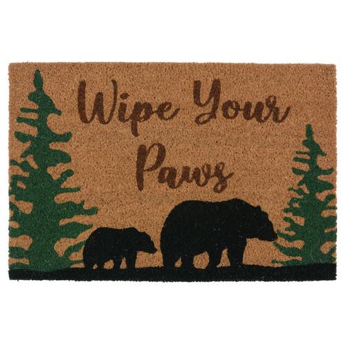 Bear & Cub Coir Doormat - BACKORDERED UNTIL 9/17/2021
