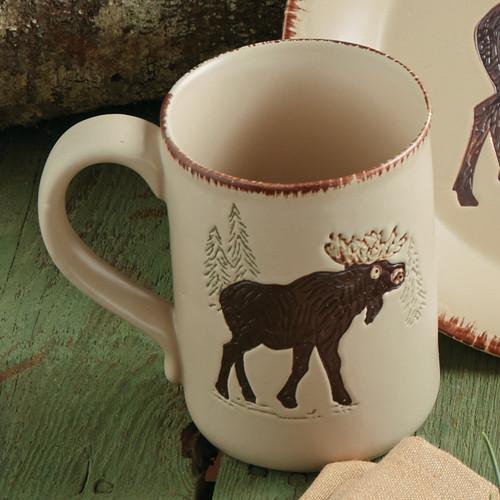 Bear & Moose Stoneware Moose Mug
