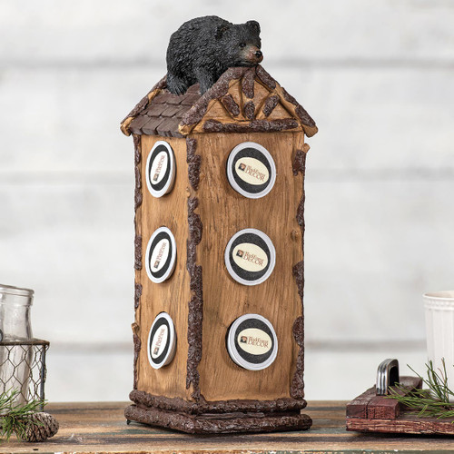 Bear Cabin Coffee Pod Holder