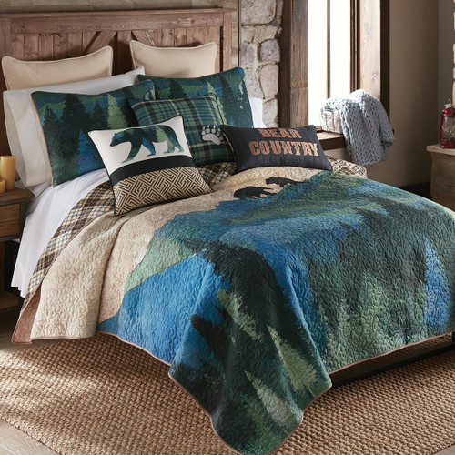 Bear Country Quilt Set - King