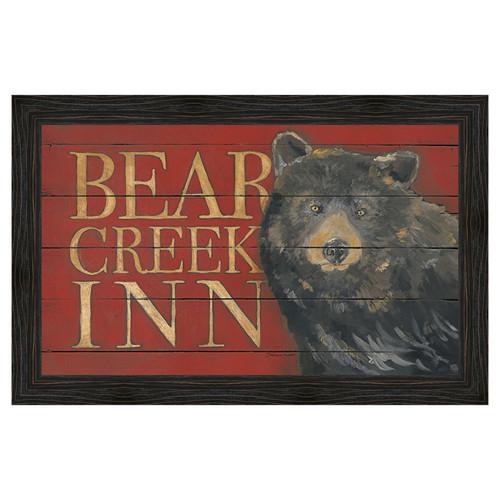 Bear Creek Framed Canvas