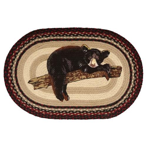 Bear Cub Braided Rug