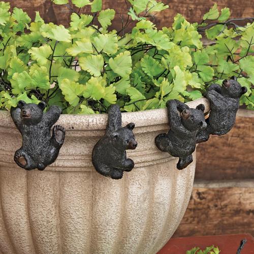 Bear Cub Pot Pals - Set of 4