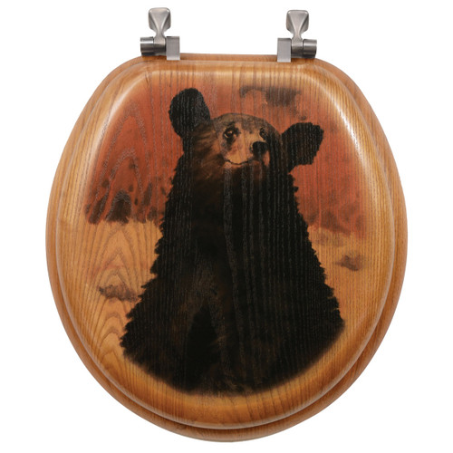 Bear Cub Toilet Seat - Round