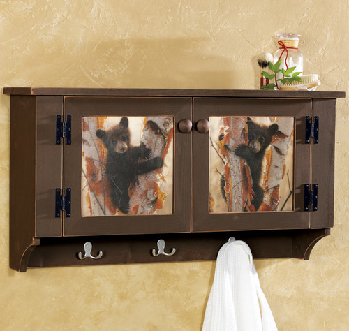 Bear Cubs Wall Cabinet