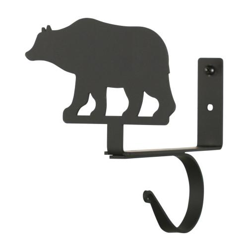 Bear Curtain Shelf Brackets Pair