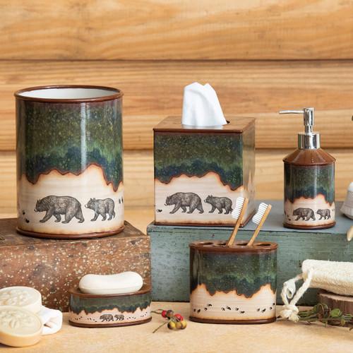 Forest Bear Bath Accessories