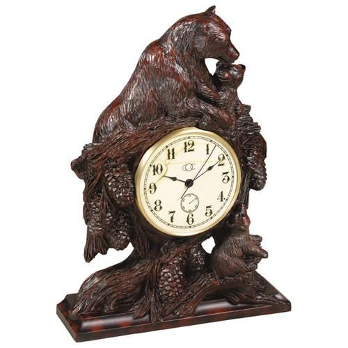 Bear Hugs Clock