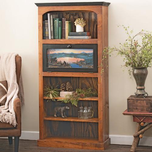 Bear Lake Bookshelf