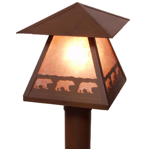 Bear March Post Mount Light