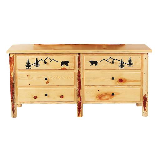 Bear Mountain Log Dresser