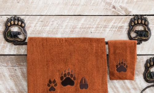 Bear Paw Wilderness Towel Bar