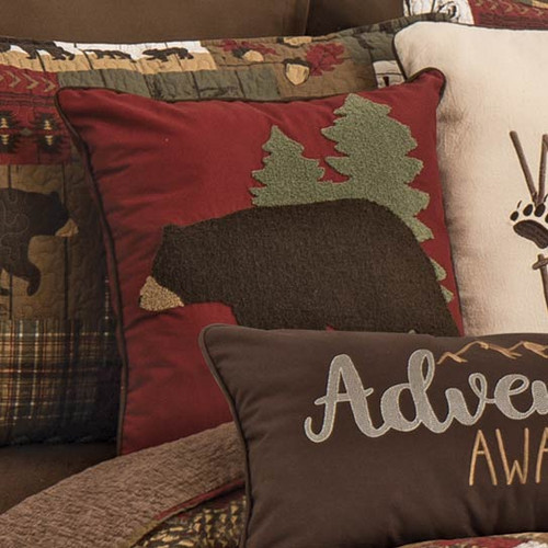 Bear Pines Pillow - BACKORDERED UNTIL 10/26/2021