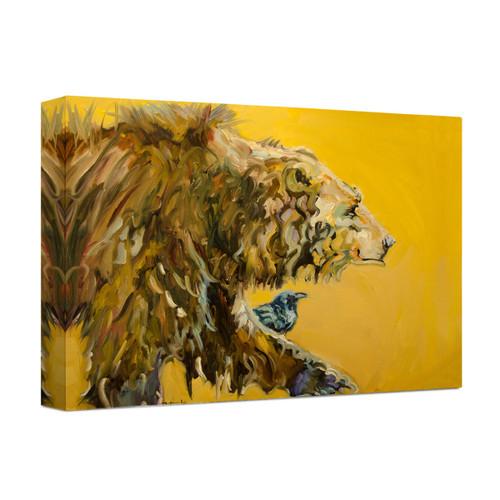 Bear Portrait Wrapped Canvas