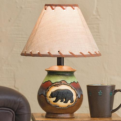 Bear Scene Accent Lamp