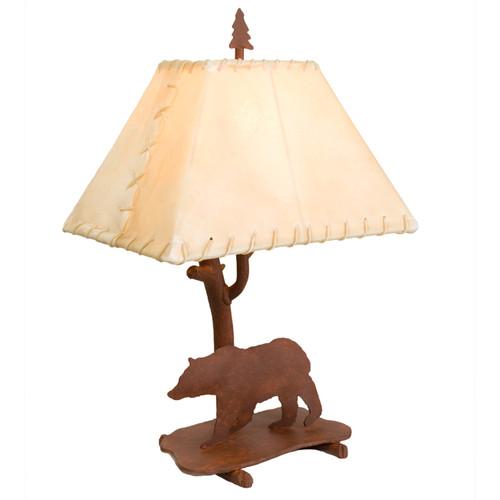 Bear Shasta Table Lamp