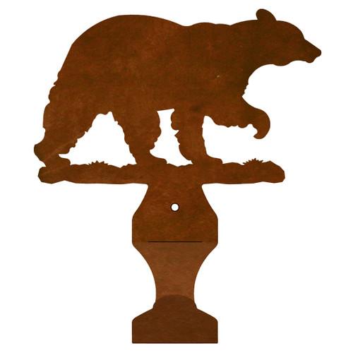 Bear Small Drape Rod Bracket