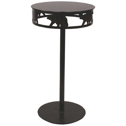 Iron Band of Bears Drink Table