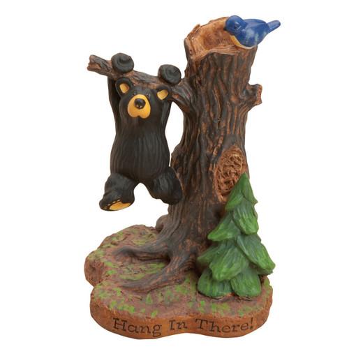 Bear Swing Figurine