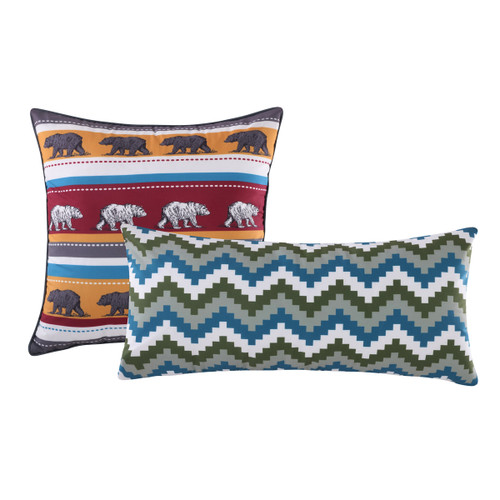 Bear Thicket Pillows - Set of 2